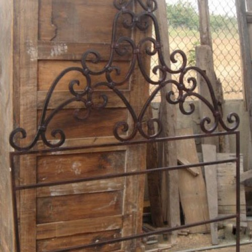 Forged Iron Headboard
