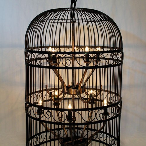 Birdcage Light 37h x 24w