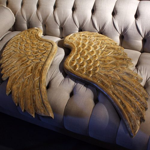 carved wings