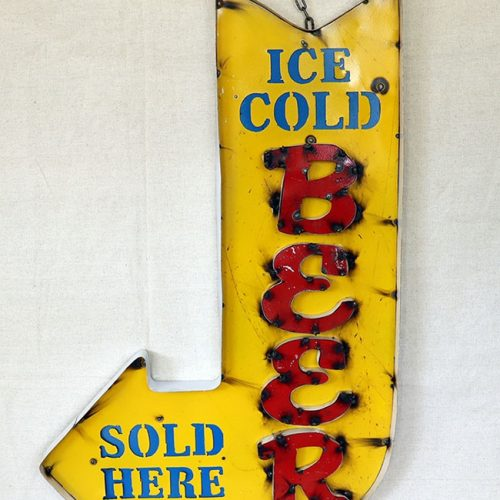 Beer Arrow Sign