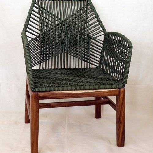 Weave chair front