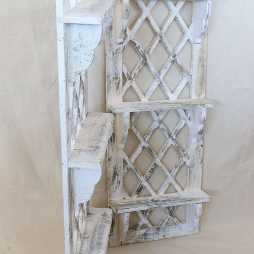 lattice back shelves