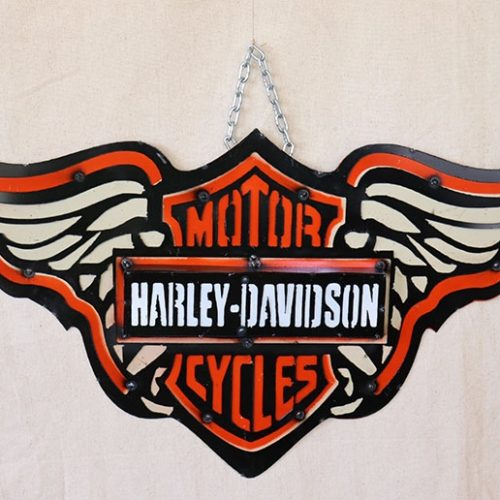 Harley Metal Sign