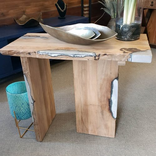 Rosewood Contemporary Console
