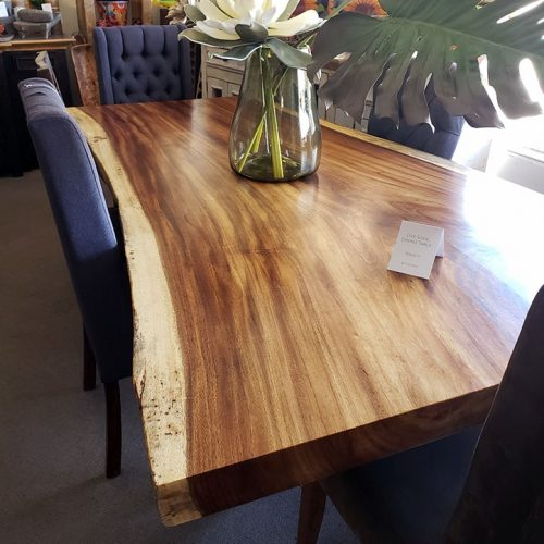 live edge dining table 94 long